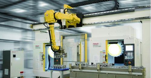 FANUC智能化机床上下料工业机器人