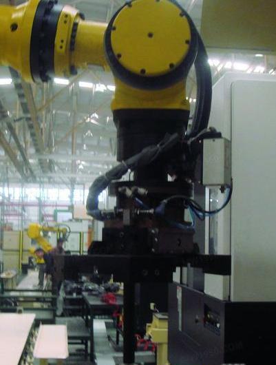 FANUC机床上下料工业机器人手爪