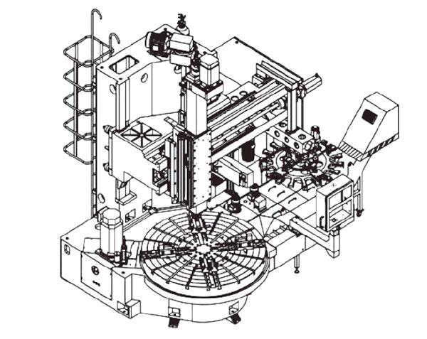 伍匠机械VTL-12/16M、VTL-16/20M结构尺寸图示