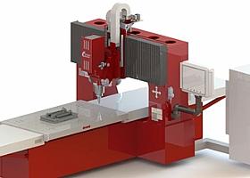 国产龙门式搅拌摩擦焊接机床:FSW-LM-BS08